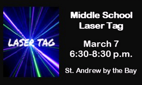 Middle School Laser Tag