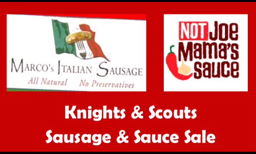 Marcos Sausage and Sauce Sale