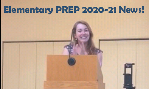 What to Expect for Elementary PREP 2020-21